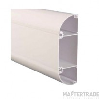 Marco ME3 Elite3 Dado Perimeter Trunking 175x60mm White 1=3m Length