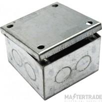 MetPro AB01G 3X3X1.5 Adaptable. Box Plain - Galv