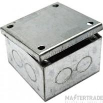 MetPro AB02G/K 3X3X2 Adaptable Box K/O - Galv