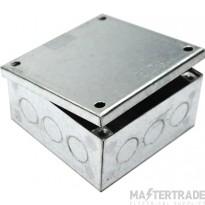 MetPro AB04G/K 4X4X1.5 Adaptable Box K/O - Galv