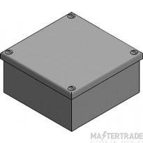 MetPro AB07G 4X4X4 Adaptable Box Plain - Galv