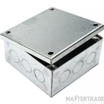 MetPro AB07G/K 4X4X4 Adaptable Box K/O - Galv