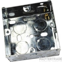 MetPro EWS2 25Mm 1 Gang Switch Socket Box