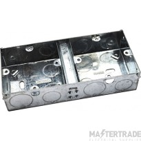MetPro EWS6 35Mm Dual Switch Socket Box