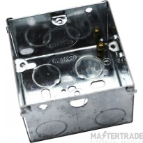 MetPro EWS7 47Mm 1 Gang Switch Socket Box