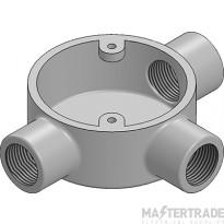 MetPro MB11G 25Mm Tee Box - Galv