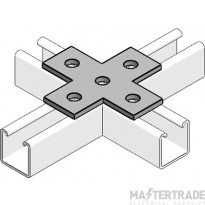 MetPro MP55 Flat Crossover (4 Way) Bracket