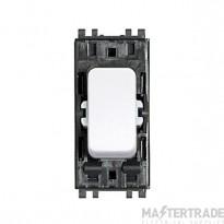 MK Masterseal Plus 1-Pole 2-Way Switch Module 10A Black 56882BLK