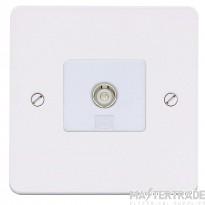 MK K14320WHIW Socket TV/FM Single