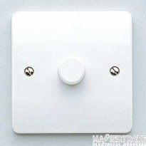 "MK Logic Plusâ""¢ 1-Gang Dimmer Switch 450W White K1511WHI"