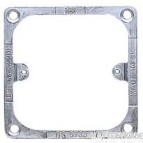 MK Metal Frame for Panel Mounting 1-Gang Grey K2200