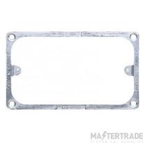MK 2-Gang Metal Mounting Frame Steel K2202