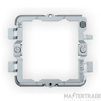 MK 2-Gang Surface Mount Grid Frame K3702
