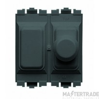 MK K4500BLKLV Dimmer Switch 1 Gang 400W