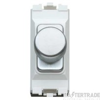 MK 1-Gang LV Dimmer Switch Module 2-Way 40-220W Brushed Stainless Steel K4501BSSWLV
