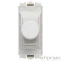 MK Grid Plus 1-Module 2-Way LV Dimmer Switch 40-220W White K4501WHILV
