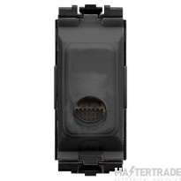 MK Aspect Cord Outlet 16A Black K4886BLK