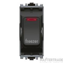 MK K4896FZBLK Grid Switch Freezer