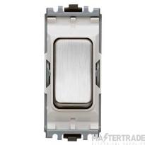 MK K4910LBSB Grid Switch Push Make 20A