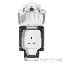 MK K56480WHI Socket 1G Unswitched 13A