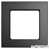 MK K5776GLAB Wall Frame 1G Black/Glass