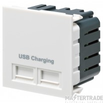 MK K5837WHI USB Charging Module