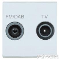MK K5852DABWHI Socket 2 Mod TV/FM