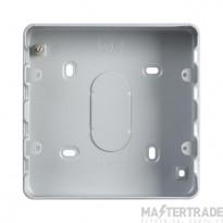 MK Grid Plus 6/8-Gang Steel Surface Mount Back Box 40mm K8823ALM