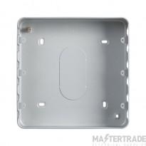 MK Grid Plus 24-Gang Steel Surface Mount Back Box 254 x 194 x 40mm K8900ALM