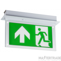 Knightsbridge EMLREC LED Emergency Recessed Sign