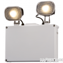 Knightsbridge EMTWIN65 LED Twin Spot 3hrNM