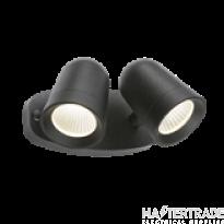 Knightsbridge FLTB Black Twin Spot 18W LED Floodlight 3500K 1300lm