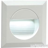 Knightsbridge NH019W Wall Light Square White LED