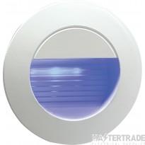 Knightsbridge NH020B Wall Light Round Blue LED