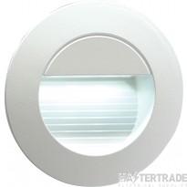 Knightsbridge NH020W Wall Light Round White LED
