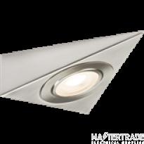 Knightsbridge TRIBCWW LED Cabinet Light Brushed Chrome