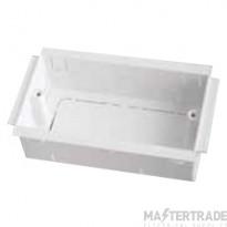 Marco MTSB2 Socket Box 2G 35mm White