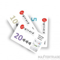 Digicard RFID Meter Cards