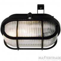 Nordlux 17051003 Oval Skot Wall Light Black