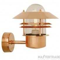 Nordlux 25011030 Blokhus Wall Lantern Copper