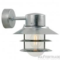 Nordlux 25051031 Blokhus Down Wall Lantern Galvanized