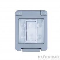 Niglon WSE101 Switch 1G 2Way IP55 Grey