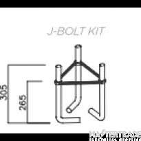NVC Rebus/Rankin NRB/JBOLTKIT/12 J Bolt Kit 12 Inch