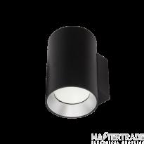 NVC Avila NAV2X10/BK/840 2X10W LED IP65 Wall Light Black 2 Way 4000K