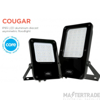 NVC Cougar NCU50/PEC/740 50W Asymmetric LED Floodlight 4000K 6425lm IP65 c/w Photocell
