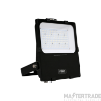 NVC Lynx NLX100/PE1/740 100W Asymmetric LED Floodlight 4000K 13970lm IP65 c/w Photocell