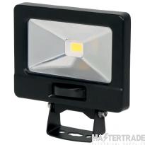 NVC Odessa V2 NOD/V2/10/BK/PIR-PEC/840 10W LED Floodlight 4000K 1015lm Black c/w PIR detector