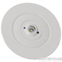 NVC Seneca NSC2/LED/REC/NM3 Recessed Emergency Spot 2W