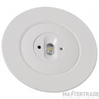 NVC Seneca NSC2/LED/REC/OVAL/NM3 Oval LED Emergency Recessed Downlight 3hrNM 2W