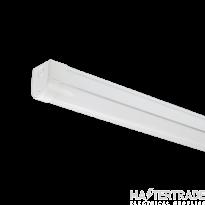 NVC Texas NTE2X4/M3/840 4ft Twin LED Batten 4000K 50W 5700lm EM